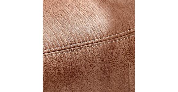 RELAXSESSEL in Textil Braun - Eichefarben/Beige, Natur, Holz/Textil (80/106/88cm) - Voleo