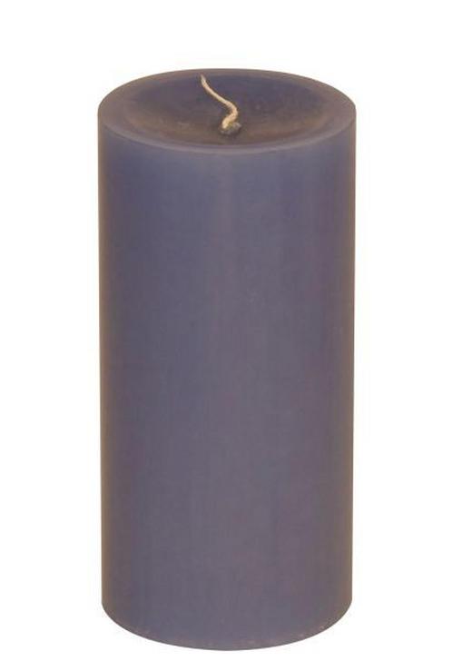 STUMPENKERZE 5,8/12 cm - Blau, Basics (5,8/12cm) - Steinhart