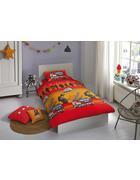 KINDERBETTWÄSCHE Renforcé Rot 135/200 cm - Rot, Trend, Textil (135/200cm)