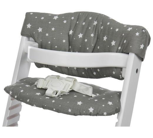 VLOŽKA NA VYSOKOU ŽIDLI, šedá - šedá, Basics, textil (23/42cm) - My Baby Lou