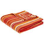 Kuscheldecke Felicia - Rot, KONVENTIONELL, Textil (150/200cm) - Ombra