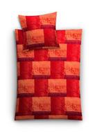 BETTWÄSCHE 140/200 cm - Rot, KONVENTIONELL, Textil (140/200cm) - KLEINE WOLKE