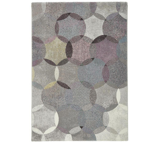 WEBTEPPICH - Taupe/Pastellblau, Design, Textil (160/225cm) - Esprit