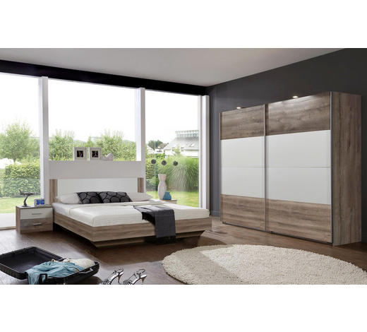 Schlafzimmer-Set Weiß & Eichefarben online finden