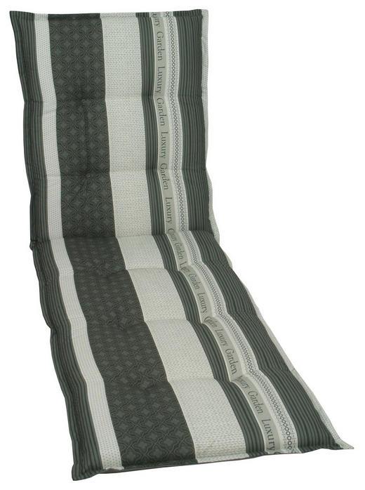 LIEGENAUFLAGE - Anthrazit/Creme, Design, Textil (60/190/8cm)