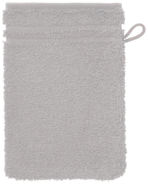 WASCHHANDSCHUH  Hellgrau - Hellgrau, Basics, Textil (22/16cm) - Vossen