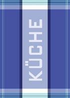 SET KRPA ZA POSUĐE - plava, Konvencionalno, tekstil (50/70cm) - Esposa