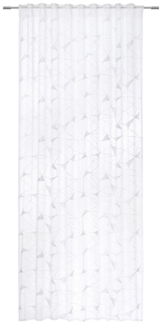 FERTIGVORHANG  transparent  135/245 cm - Weiß, Design, Textil (135/245cm) - Esposa