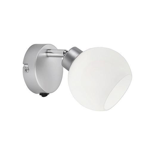 STRAHLER - Weiß/Nickelfarben, Design, Glas/Metall (18/15/17cm) - Boxxx