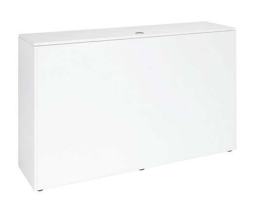BETTKASTEN Weiß - Weiß, Design (120.6/74.2/33.3cm) - Welnova