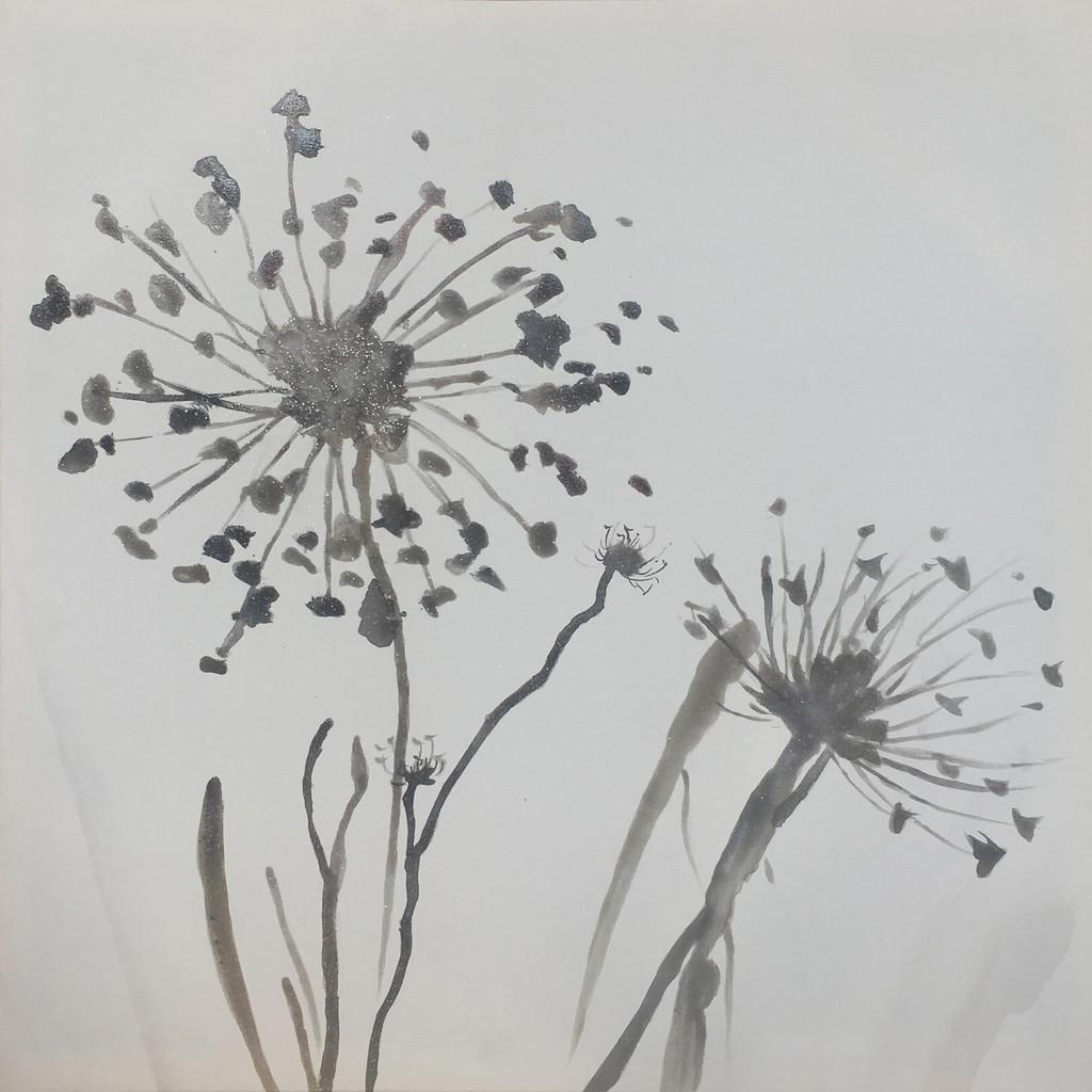 Monee UMELECKÁ TLAČ, kvety, 55/55 cm