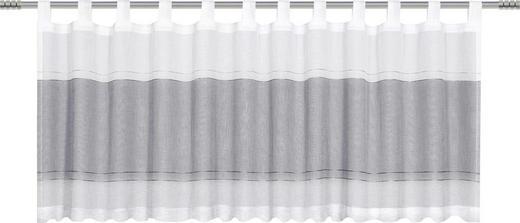 KURZGARDINE    50/140 cm - Schwarz, Basics, Textil (50/140cm)