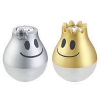 SALZSTREUER - Silberfarben/Goldfarben, Design, Kunststoff/Metall (3,5/4,5cm) - WMF