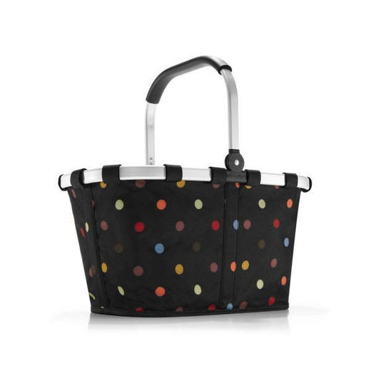 CARRYBAG DOTS - Multicolor/Schwarz, Basics, Textil/Metall (48/29/28cm) - Reisenthel