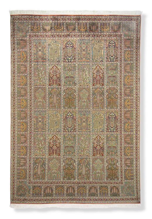 ORIENTTEPPICH 40/60 cm - Multicolor, KONVENTIONELL, Weitere Naturmaterialien (40/60cm) - Esposa