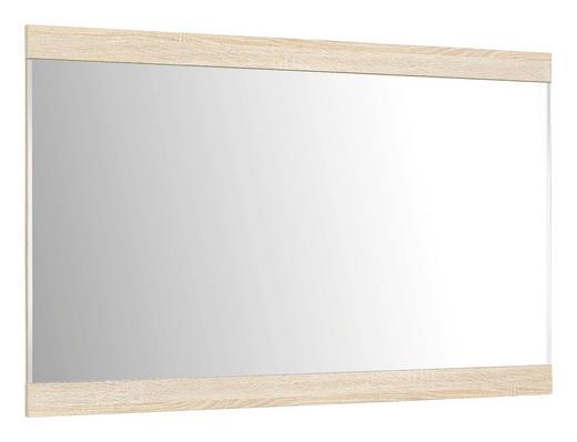 OGLEDALO - hrast Sonoma, Design, staklo/drvni materijal (110/70cm) - BOXXX
