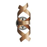 LED WANDLEUCHTE   Kupferfarben, Design, Metall (13/28cm)   Ambiente