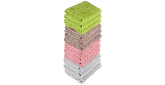 FROTTIERSET 50/90 cm Silberfarben  - Silberfarben, Basics, Textil (50/90cm) - Esposa
