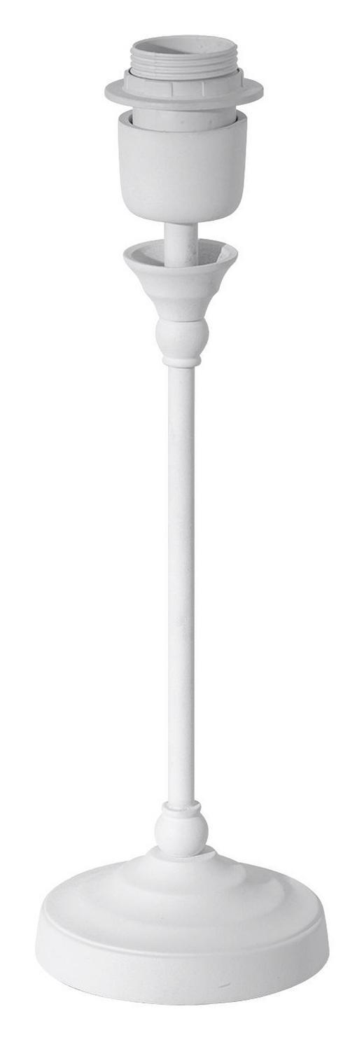 LEUCHTENFUß  Weiß  Metall - Weiß, Design, Metall (11/36cm) - MARAMA