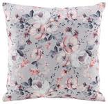 Zierkissen Rosi - Grau, ROMANTIK / LANDHAUS, Textil (40/40cm) - James Wood