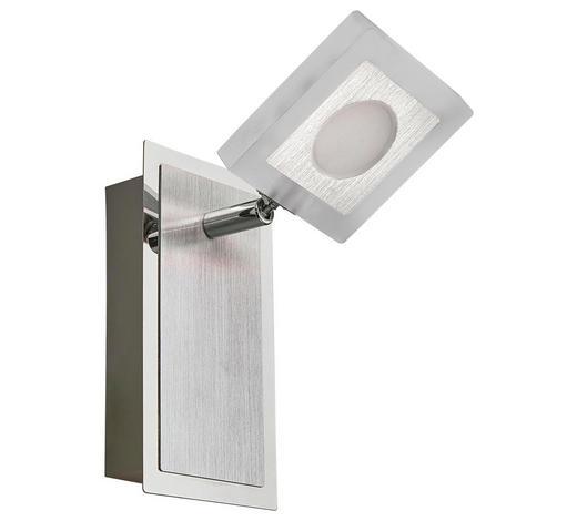 LED-STRAHLER - Chromfarben, Design, Kunststoff/Metall (14,5/9/17cm) - Novel