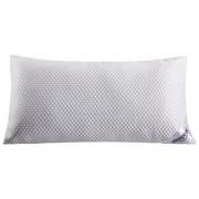 NACKENSTÜTZKISSEN  40/80 cm       - Weiß/Hellblau, KONVENTIONELL, Textil (40/80cm) - Sleeptex