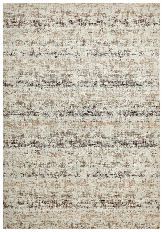 FLACHWEBETEPPICH - Beige/Braun, KONVENTIONELL, Textil (160/230/cm) - Novel