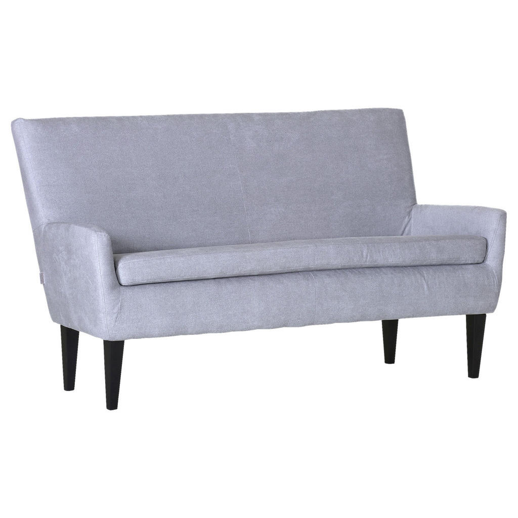 Livetastic Zweisitzer-sofa flachgewebe hellgrau