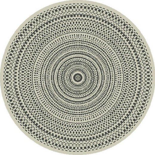 OUTDOORTEPPICH  In-/ Outdoor - Design, Textil (115cm) - Boxxx