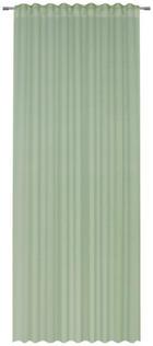 FERTIGVORHANG  halbtransparent  140/245 cm - Grün, Basics, Textil (140/245cm) - Esposa