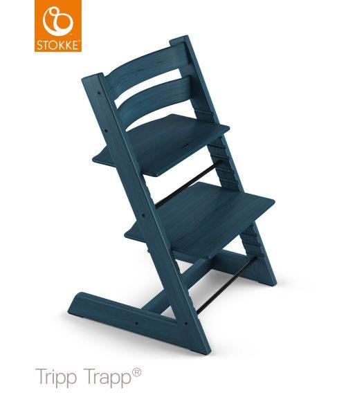 Stokke Tripp Trapp - blå, Basics, trä (46/79/49cm) - Stokke