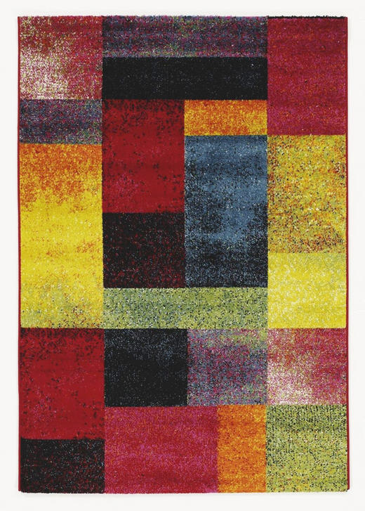 WEBTEPPICH - Multicolor, Design, Textil (200/290cm) - Novel