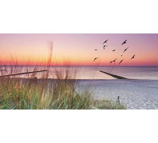 KEILRAHMENBILD - Multicolor, Natur, Holz/Papier (115/55/3cm)