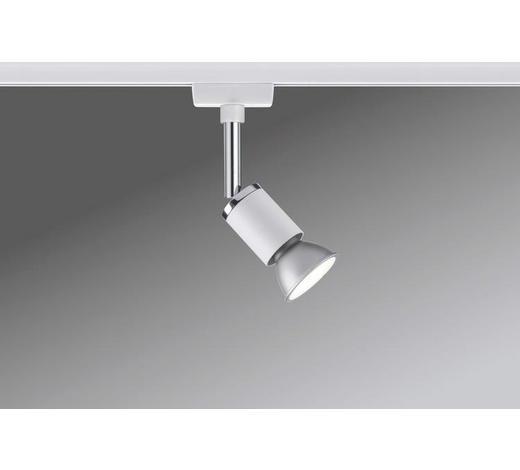 URAIL SCHIENENSYSTEM-STRAHLER   - Chromfarben/Weiß, Design, Metall (5,8/11,0/6,6cm)