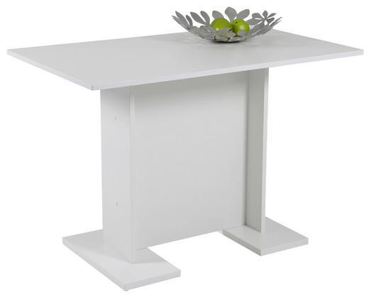 ESSTISCH Weiß - Weiß, Design, Holzwerkstoff (108/68/75cm) - CARRYHOME