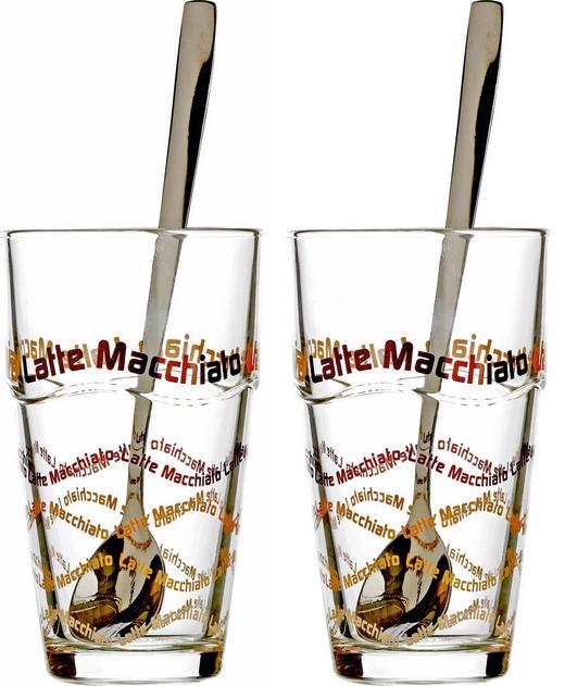 Kaffeegläser-Set 4-teilig 370 - Klar, KONVENTIONELL, Glas (17cm) - Ritzenhoff Breker