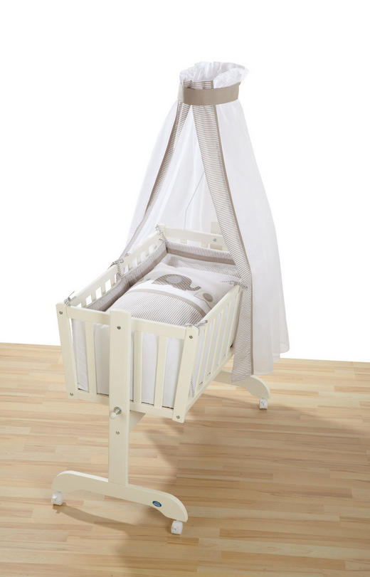 WIEGENSET - Beige, Basics, Textil (80x80/35x40cm) - Alvi