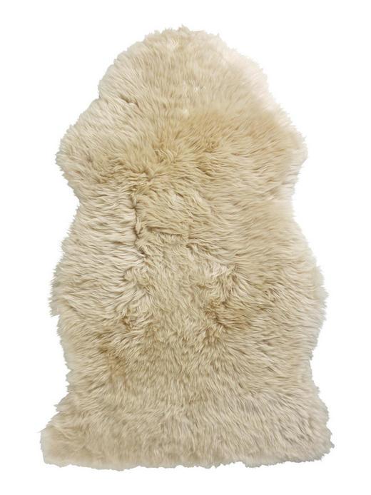 SCHAFFELL  95/60 cm  Hellbraun - Hellbraun, LIFESTYLE, Leder/Fell (95/60cm) - Linea Natura