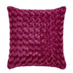 Zierkissen Rose ca. 45/45cm - Beere, ROMANTIK / LANDHAUS, Textil (45/45cm) - James Wood