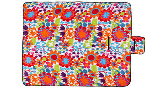 PICKNICKDECKE 135/175 cm  - Multicolor, Trend, Textil (135/175cm) - Esposa