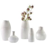 VASE 12,5 cm - Weiß, Design, Keramik (6/6/13cm) - Ritzenhoff Breker