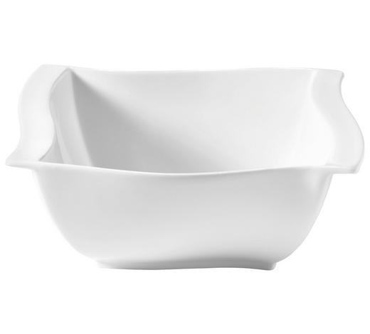 MÍSA NA SALÁT, porcelán - bílá, Basics, keramika (23/23/9cm) - Novel