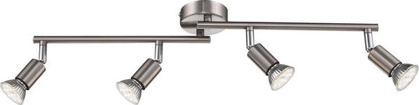 LED-STRAHLER - Nickelfarben, KONVENTIONELL, Metall (60/16cm) - BOXXX