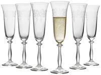 SEKTGLAS-SET 6-teilig  - Klar, Trend, Glas (0,19l) - Novel