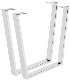 BORDSUNDERREDE - silver, Design, metall (78/72/7,5cm) - Valdera
