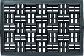DÖRRMATTA - svart, Design, textil (45/75cm) - Schöner Wohnen
