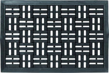 FUßMATTE 45/75 cm  - Schwarz, Design, Kunststoff/Textil (45/75cm) - Esposa