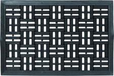 FUßMATTE 45/75 cm  - Schwarz, Design, Textil (45/75cm) - Esposa