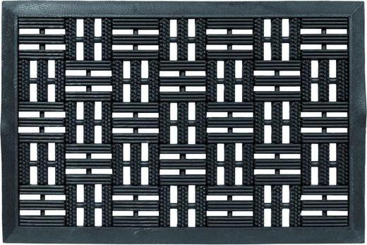 FUßMATTE 45/75 cm - Schwarz, Design, Textil (45/75cm) - Schöner Wohnen