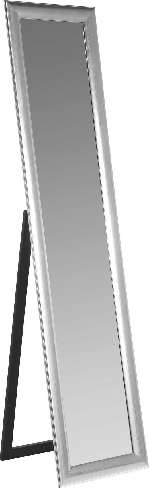 STANDSPIEGEL - Silberfarben, Design, Glas/Holzwerkstoff (40/170/40cm) - Kare-Design